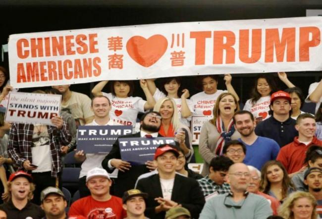 美国大选与华人的川普情结