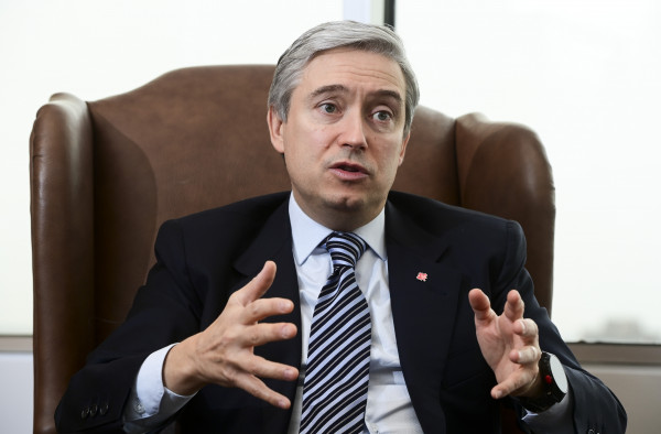 Minister of Foreign Affairs Francois-Philippe Champagne takes part in a year-end interview with The Canadian Press at Global Affairs Canada in Ottawa on Wednesday, Dec. 16, 2020. THE CANADIAN PRESS/Sean Kilpatrick