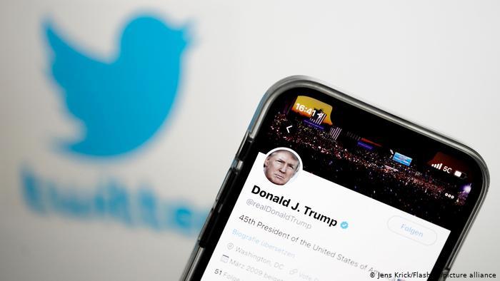 Symbolfoto | Twitter Account von Donald Trump