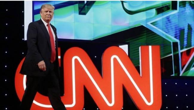 卧底影片曝光 CNN编假新闻黑川普 助拜登上位