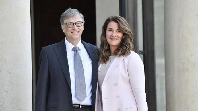 比尔·盖茨与梅琳达。IC 资料图