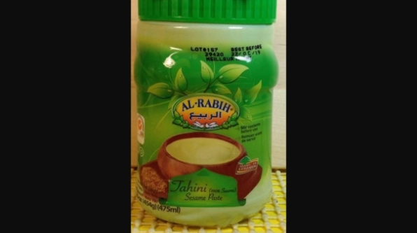 注意:这款芝麻酱疑被沙门氏菌污染 厂家召回