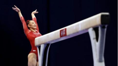 美国体操替补选手染疫 奥运村出现第三名确诊者
