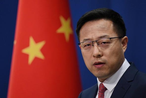 美国称武汉实验室3人染疫 赵立坚回呛:姓甚名谁?