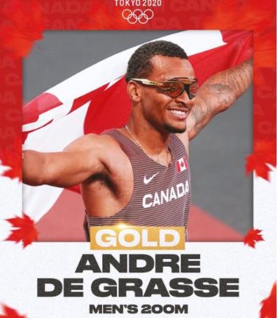 快报:加拿大将男子200米金牌收入囊中
