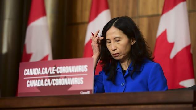 加拿大首席卫生官 Theresa Tam 医生。