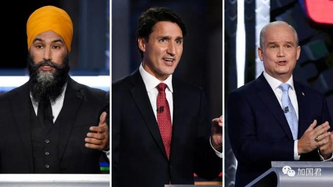 特鲁多:投NDP=投保守党 奥图尔:PPC=自由党