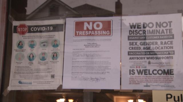 这省餐馆拒绝跟进疫苗证书规定:这是顾客自由