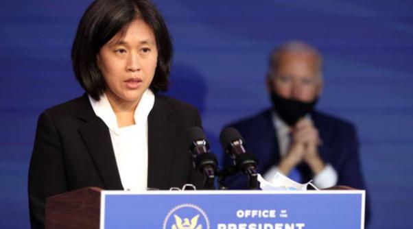 戴琪:确保中国落实贸协 视情况启动301调查