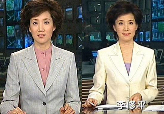 新闻联播主播定八人 女主播享国脸美誉图片