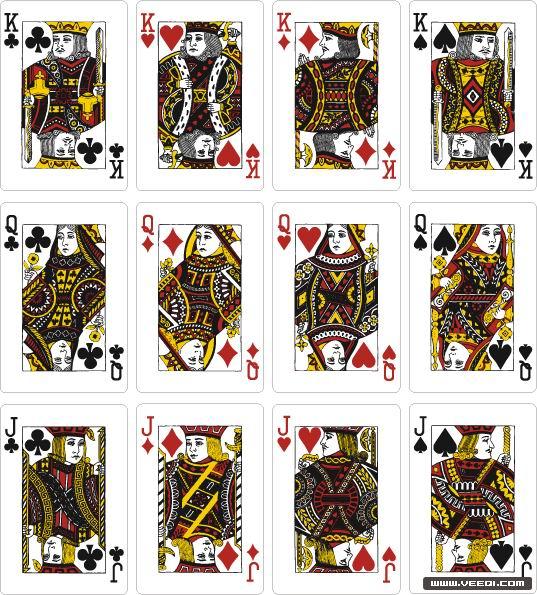 (图文)鲜为人知:扑克牌中所蕴含的历史文化