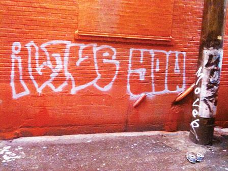 温哥华数栋房屋外墙上我爱你 涂鸦情人节现温市