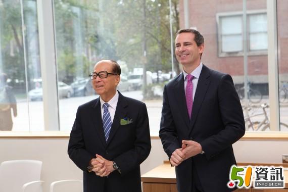 李嘉诚父子大传_(图文)香港富豪李嘉诚父子今天来到多伦多 - 新闻中心 - 温哥华港湾