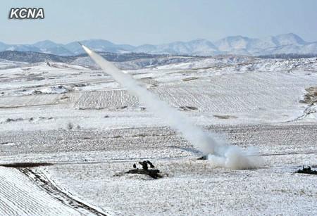 (组图)首次公开 朝鲜无人机空袭训练照片曝光