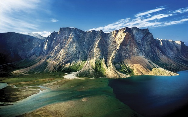 """加拿大托恩盖特山:岩石上的""""精神之地"""""""