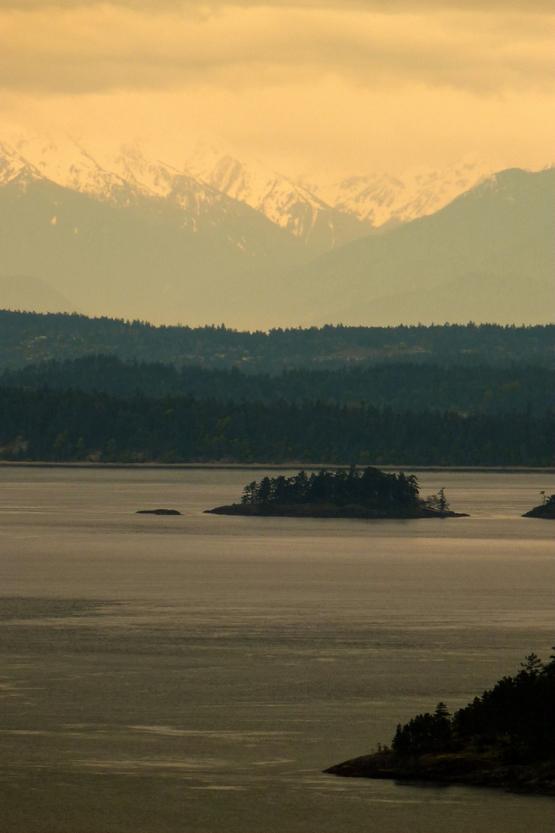 温哥华附近海岛城堡 春游美景美图