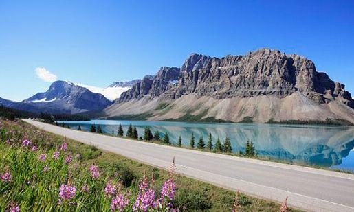 (组图)加拿大田园牧歌:再现落基山完美景色