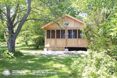 (图文)加拿大露营好去处:乔治湾公园小屋出租