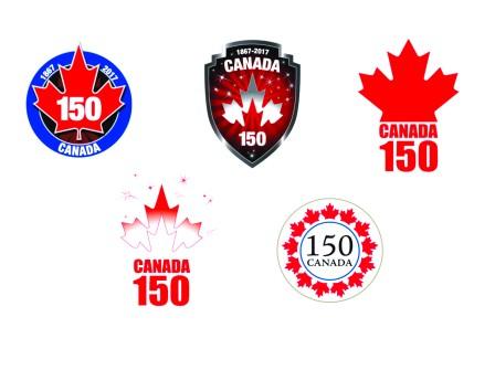 (图文)加拿大150周年庆 5款标志设计招恶评