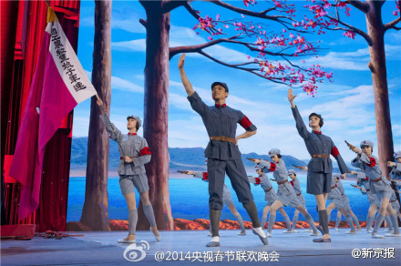 冯小刚将文革样板戏红色娘子军搬上春晚
