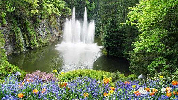 世界上最美的花园:加拿大布查特花园