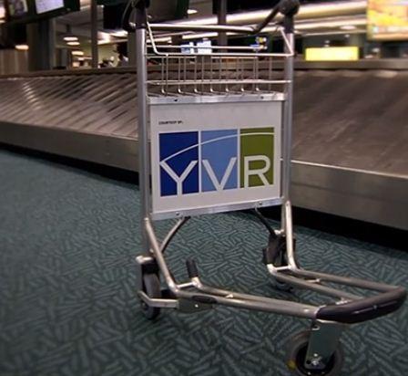 温哥华机场推出新款行李推车
