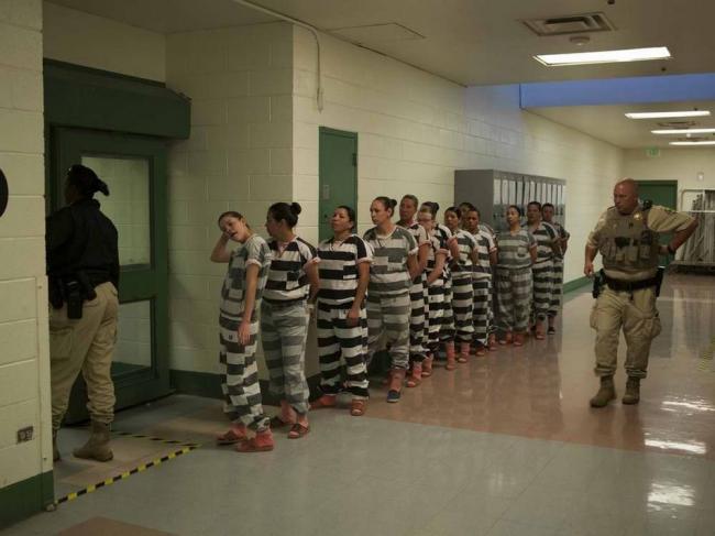 美国一女子监狱堪称地狱