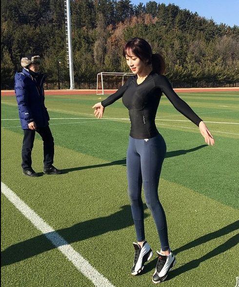 韩国爆红美女体育老师