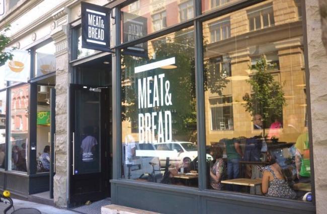 �¸绪�������еĴ��棺Meat & Bread