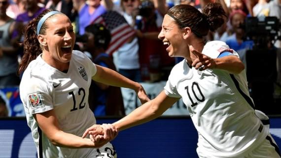 女足世界杯在温哥华落幕 美国5-2复仇日本