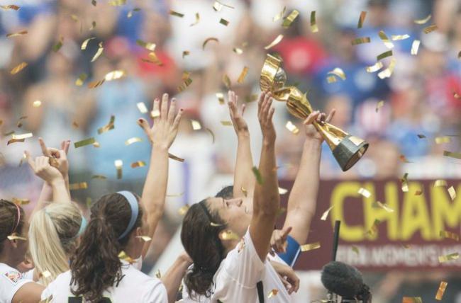 女足世界杯决战温哥华举行 收视冲破纪录
