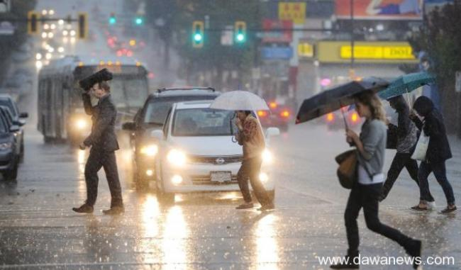大温地区暴雨警告:新一轮暴雨再来