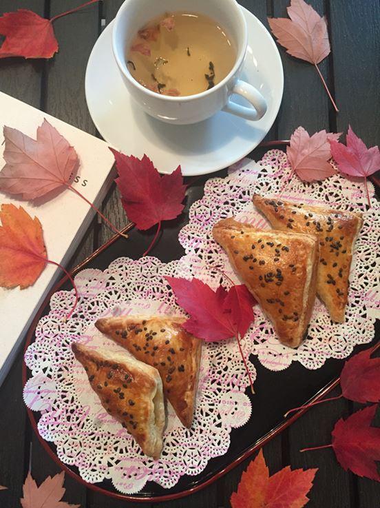 莲藕酥皮塔----秋日小食