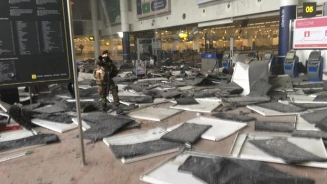 加拿大人比利时亲历恐袭 天花板砸落身边