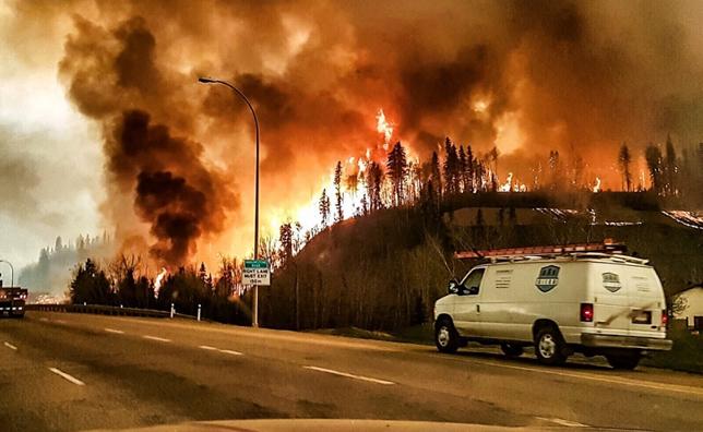 加拿大阿尔伯塔大学研究森林火灾