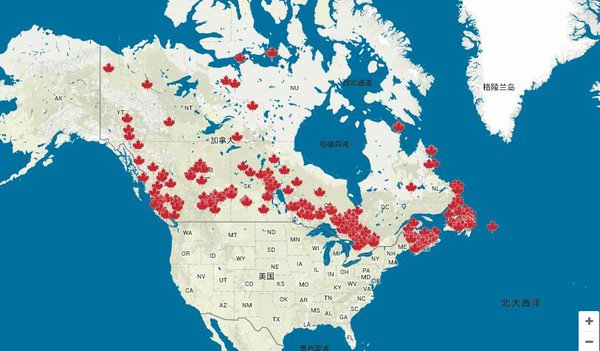 加拿大最牛地图:可查全国最黄暴最奇葩地名