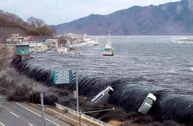 记载了那一天发生海啸的史料在日本的其他城市也能