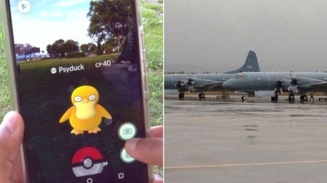 闯军事基地抓Pokemon 加拿大军方喊罚