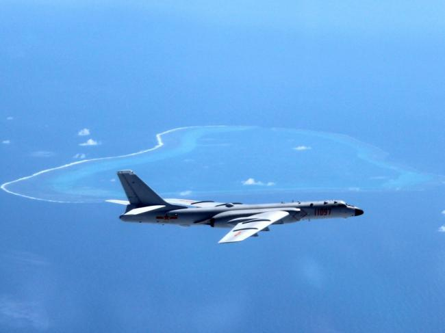 中国多款王牌战机倾巢出动    飞赴南海