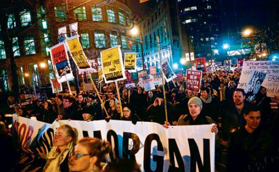 横山油管获准扩建 温市中心爆发示威