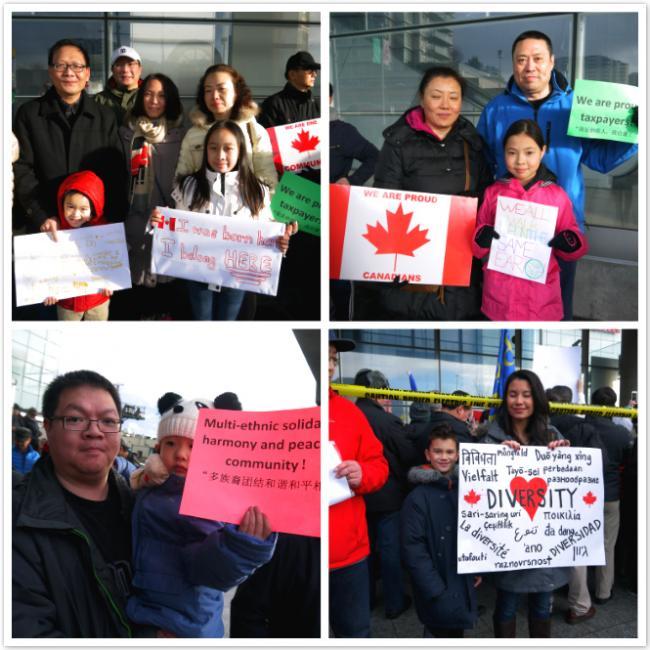 12月11日抗议排华集会记事:华人凝聚的热血