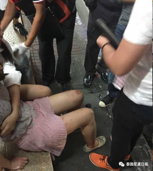 头破血流!中国游客在泰国再遭抢劫