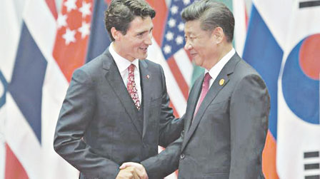 川普上台 加中抱团展开自贸协议初步谈判