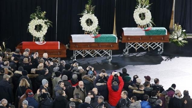 特鲁多等三级政府领导 出席枪击案受害者葬礼