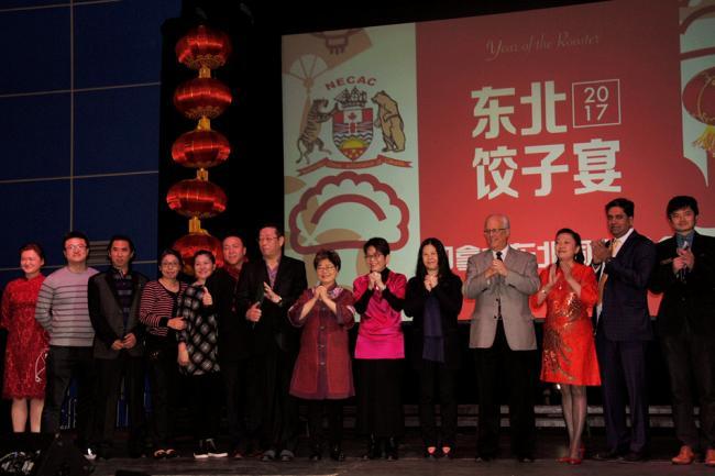 千人饺子宴圆满举行,东北同乡热闹贺元宵!