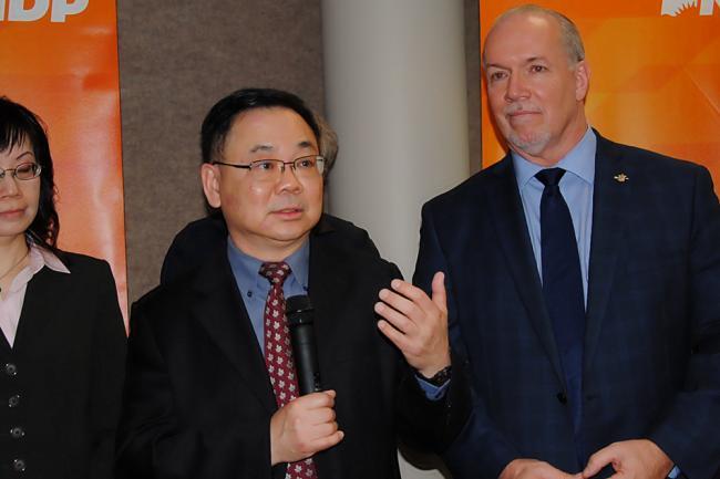 NDP为省选发力了!这个华裔省议员候选人大有来头