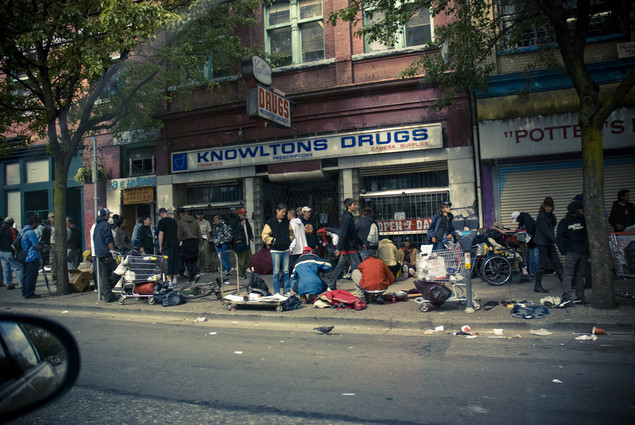 跟一个温哥华街头的Panhandler(乞讨者)聊天