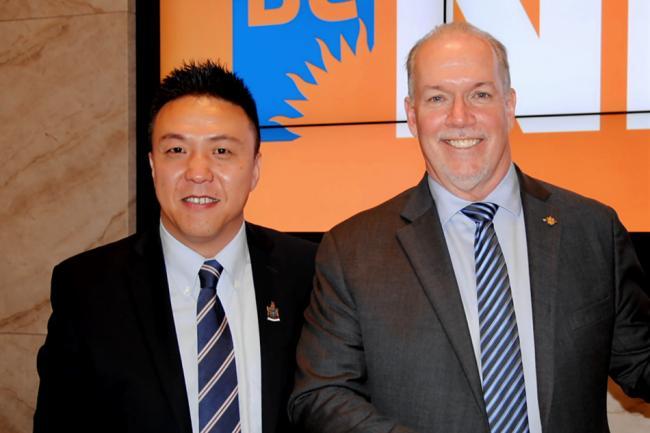 NDP又一重磅华裔省议员候选人!这是个西北汉子
