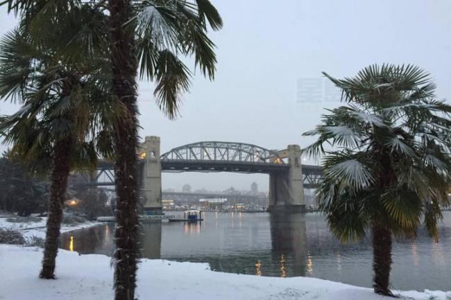 大温哥华地区将再降雪