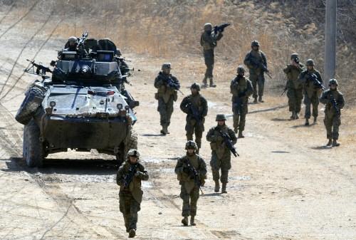 川普:美国将进行史上最大扩军行动 以后没人敢惹